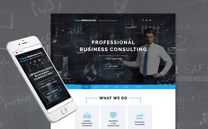 e Business Joomla Template