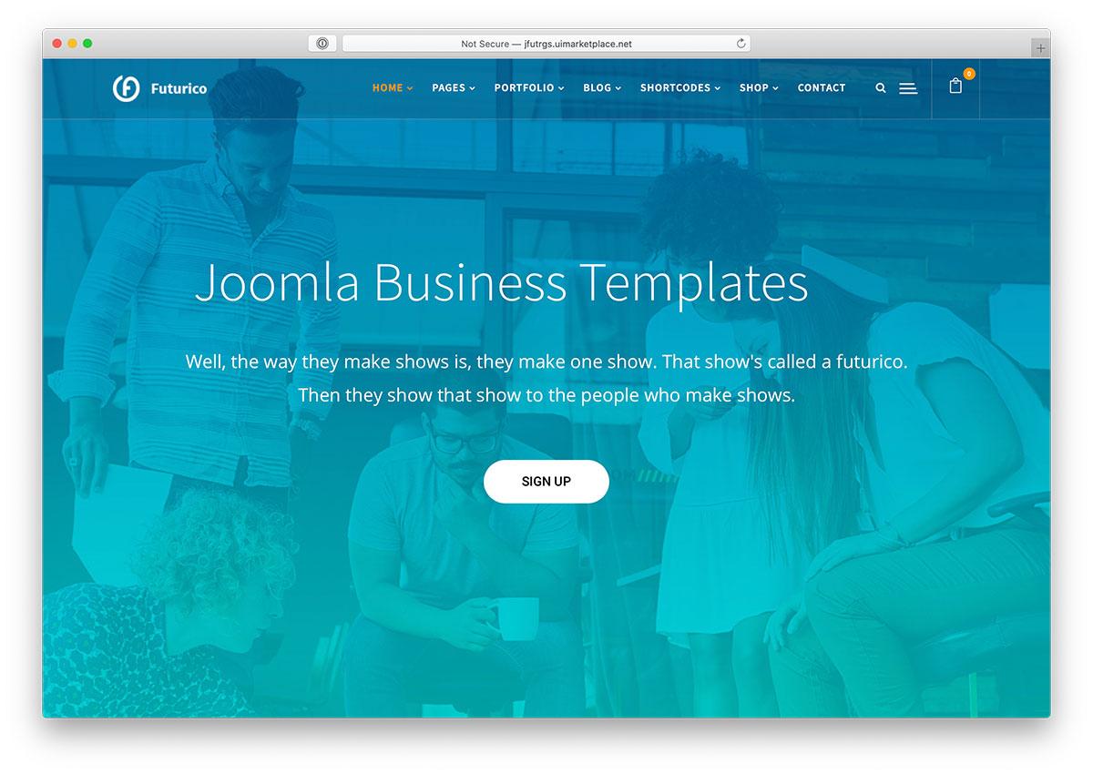 21 Best Joomla Business Templates 2020