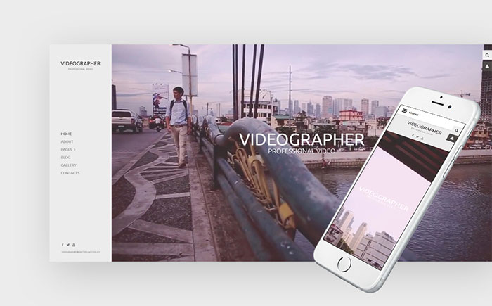 pher & Photographer Joomla Template