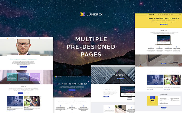 Multipurpose Joomla Theme