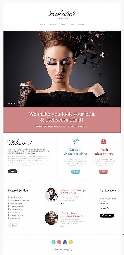 Beauty Salon Joomla Template