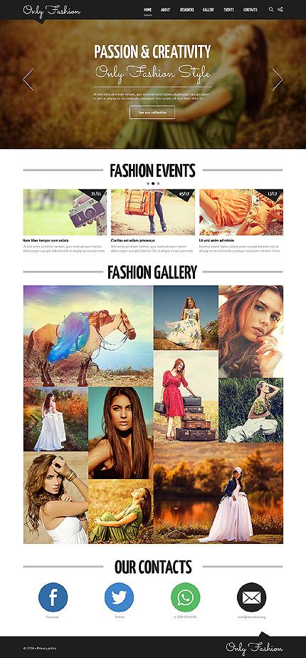 Fashion Blog Responsive Joomla Template