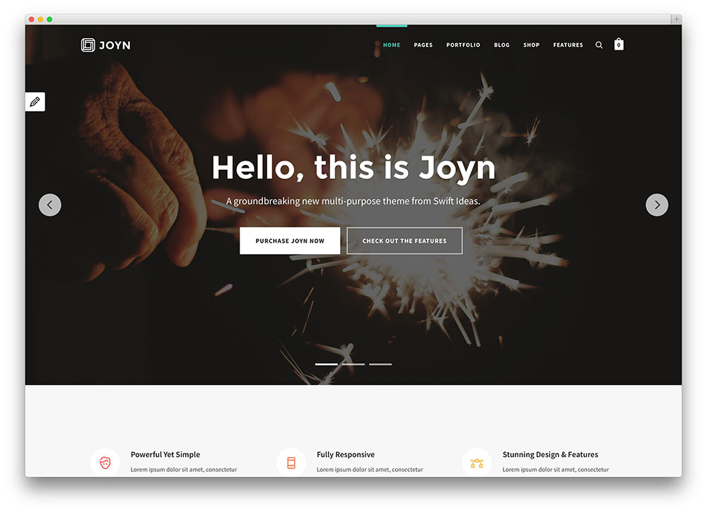 joyn multipurpose theme