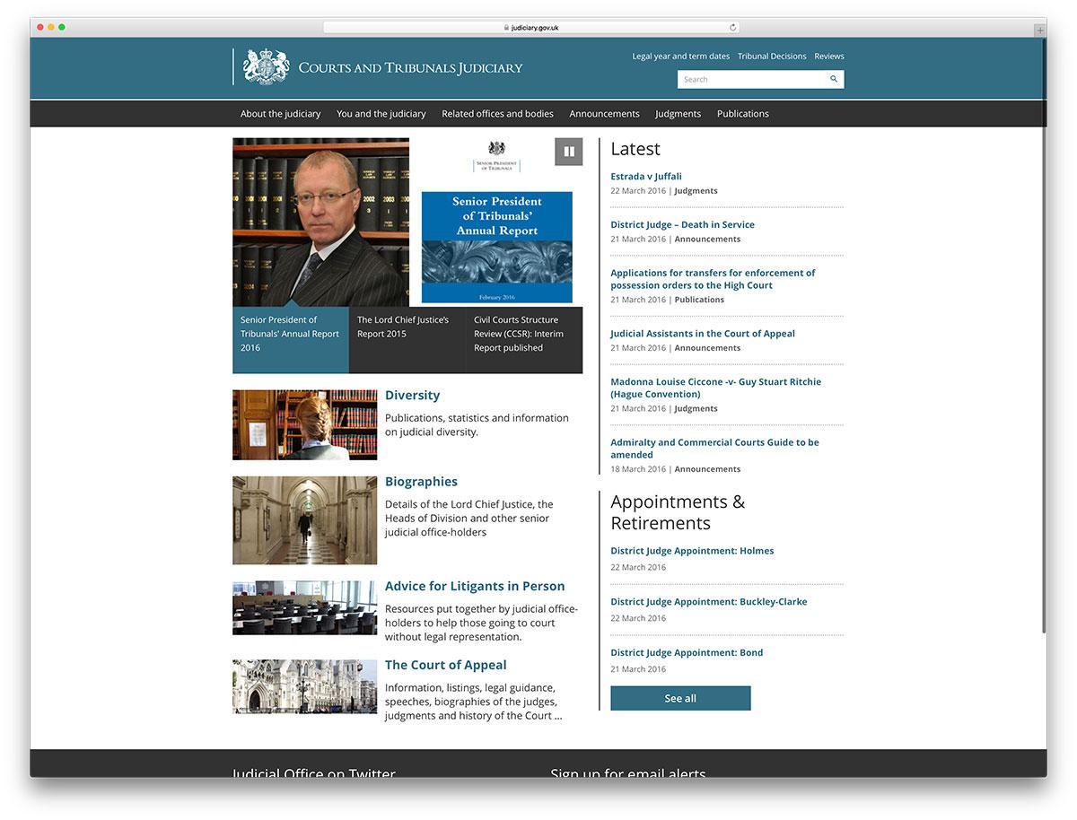 judiciary-gov-website-based-on-wordpress