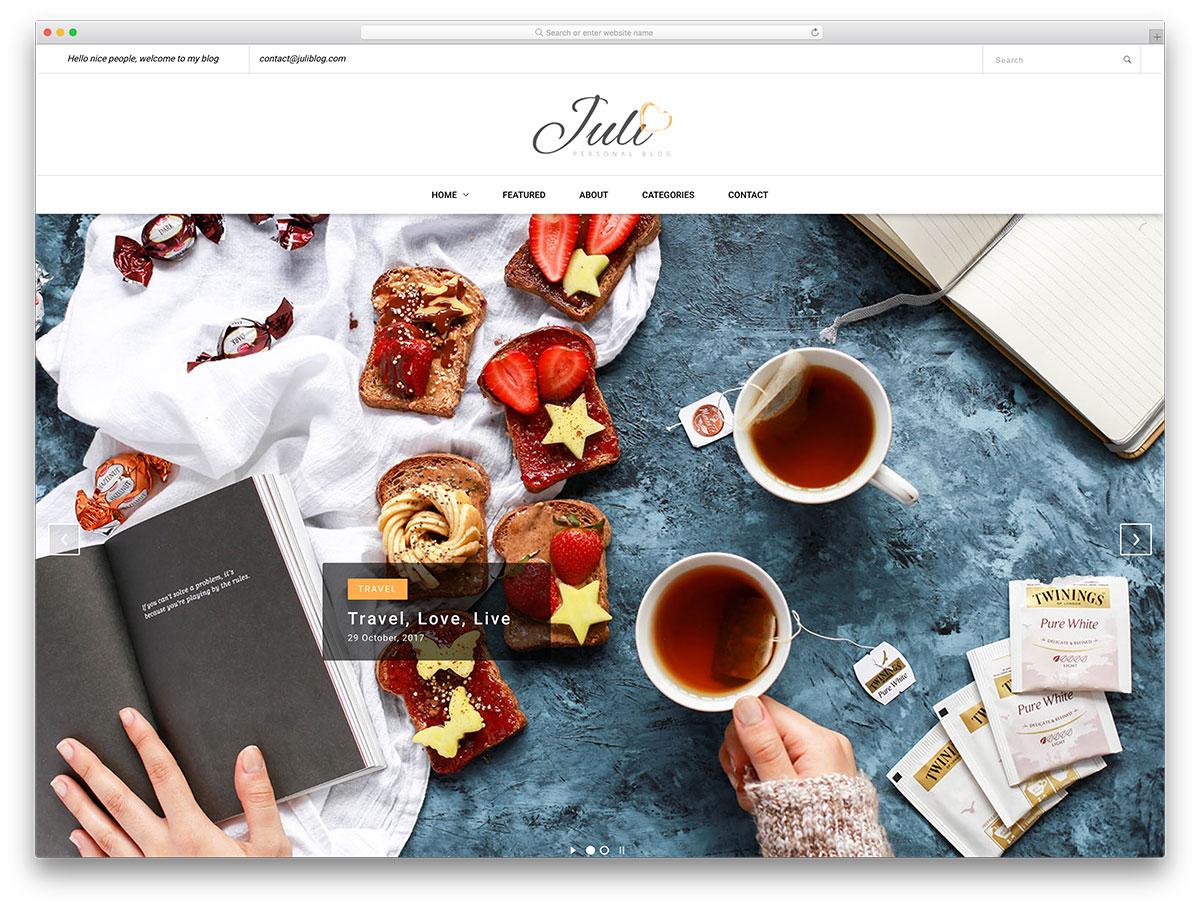 , 32 Best Free Blog Templates For Inspiring Blogs 2019, Rojak WP