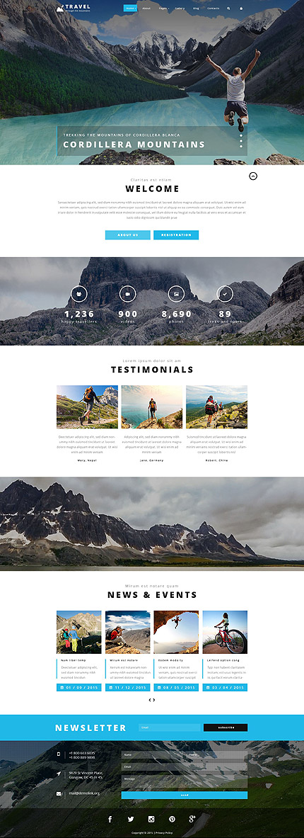 Travel Joomla Template