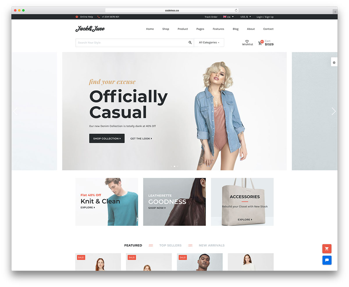 4b18b2478c07 40 Best Fashion Blog   Magazine WordPress Themes 2019 - colorlib