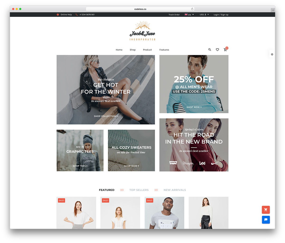 Best fashion ecommerce sites 2018 16