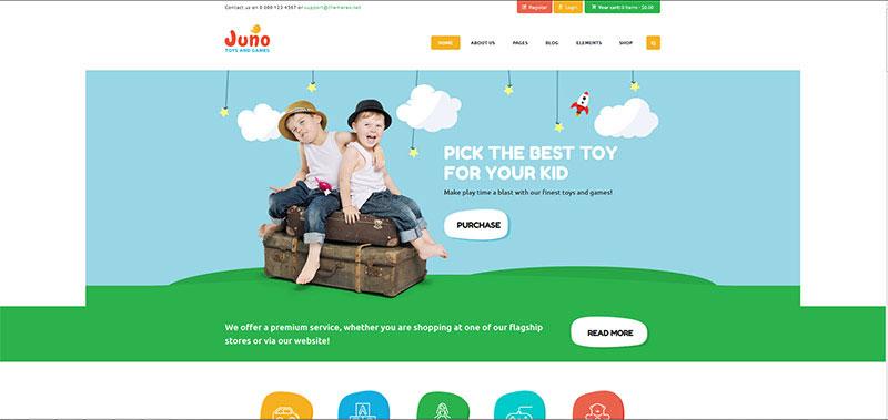 , 19 Premium Kids & Children WordPress Themes 2019, Rojak WP