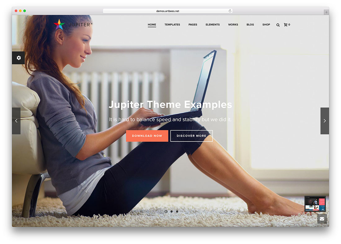 30 Excellent Example Websites Using Jupiter WordPress Theme 2015