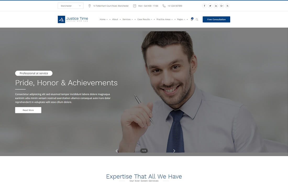 16 powerful premium lawyer website templates html wordpress justice time html lawyer website template pronofoot35fo Choice Image