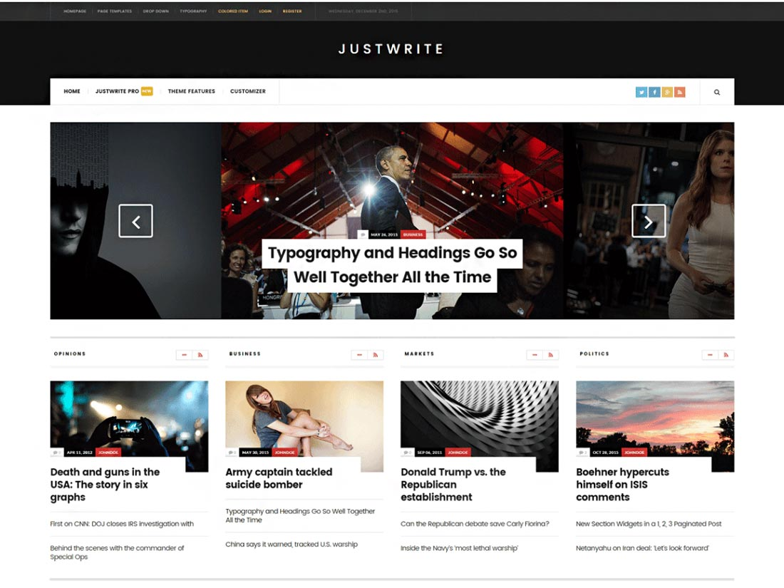 free event wordpress themes