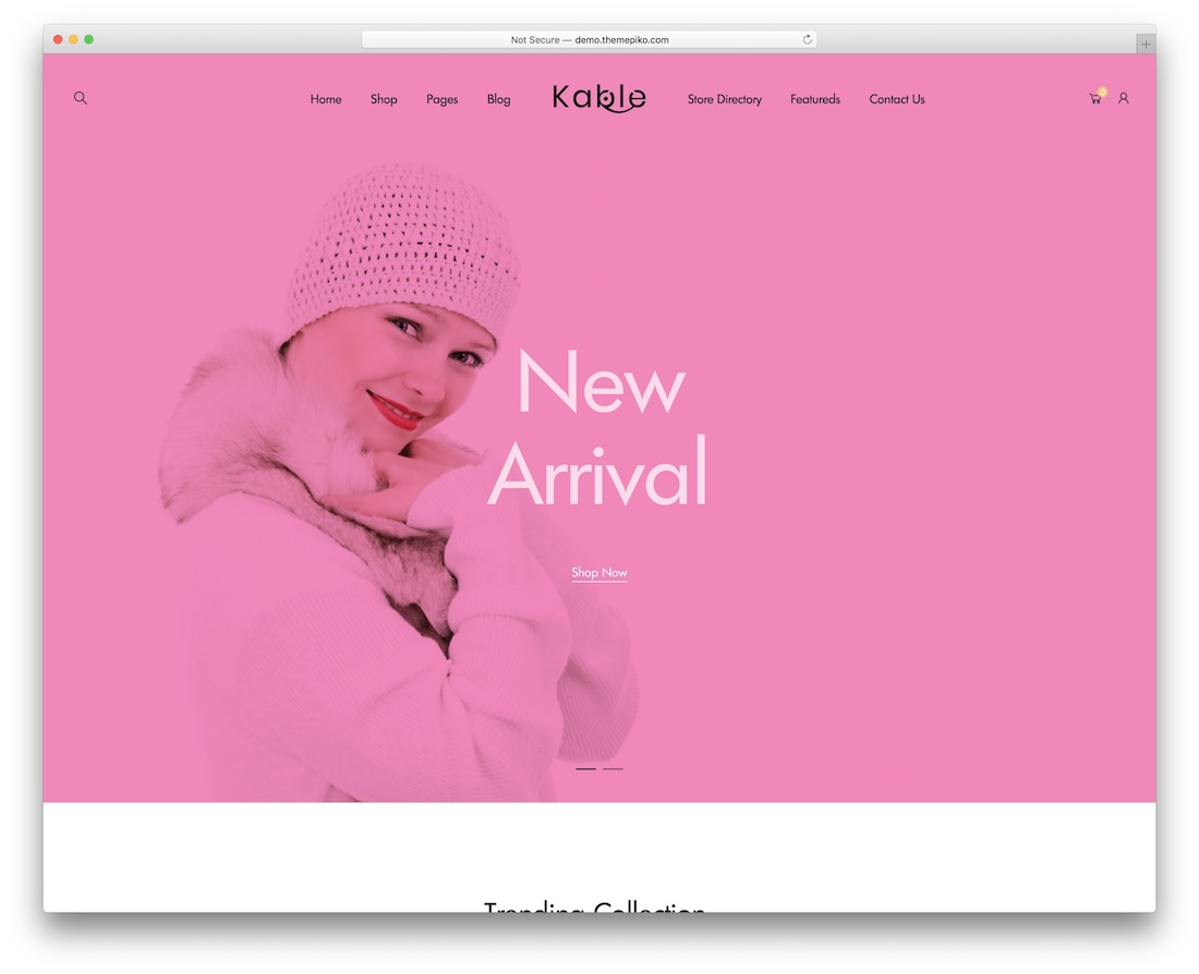 kable wordpress theme