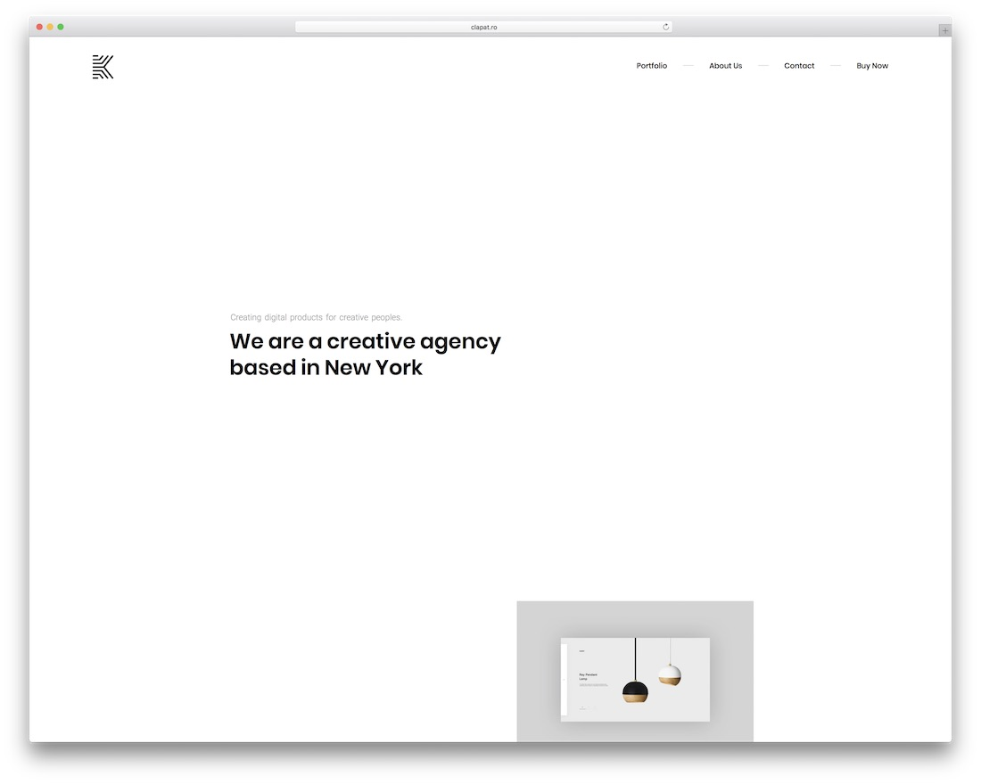 kaleo grid website template