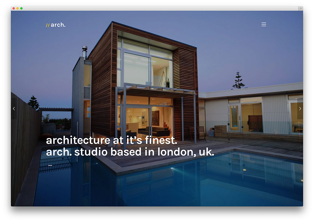 best wordpress themes for architects and architectural firms 2018