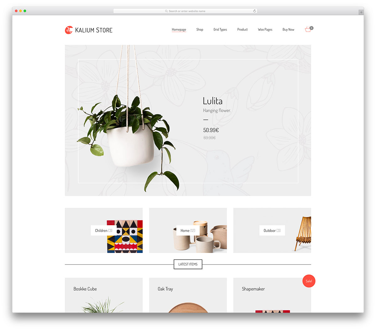 kalium-simple-ecommerce-website-template