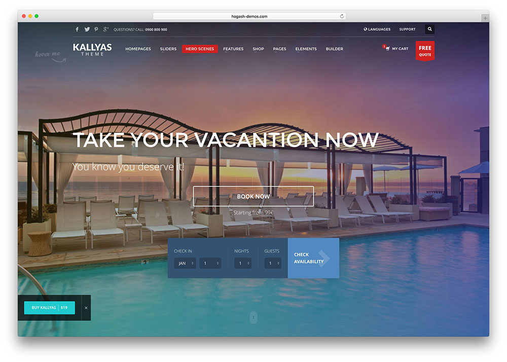 21 top html5 hotel booking website templates 2018 colorlib kallyas html hotel booking website template maxwellsz