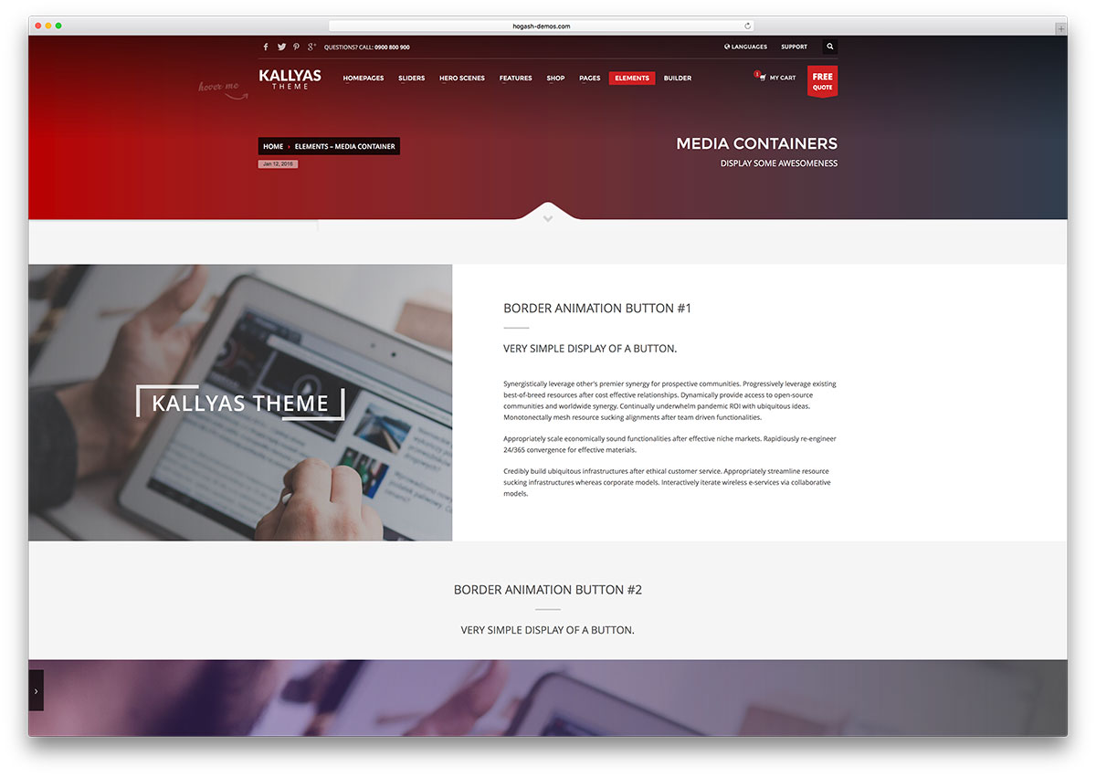kallyas-html-multipurpose-website-template