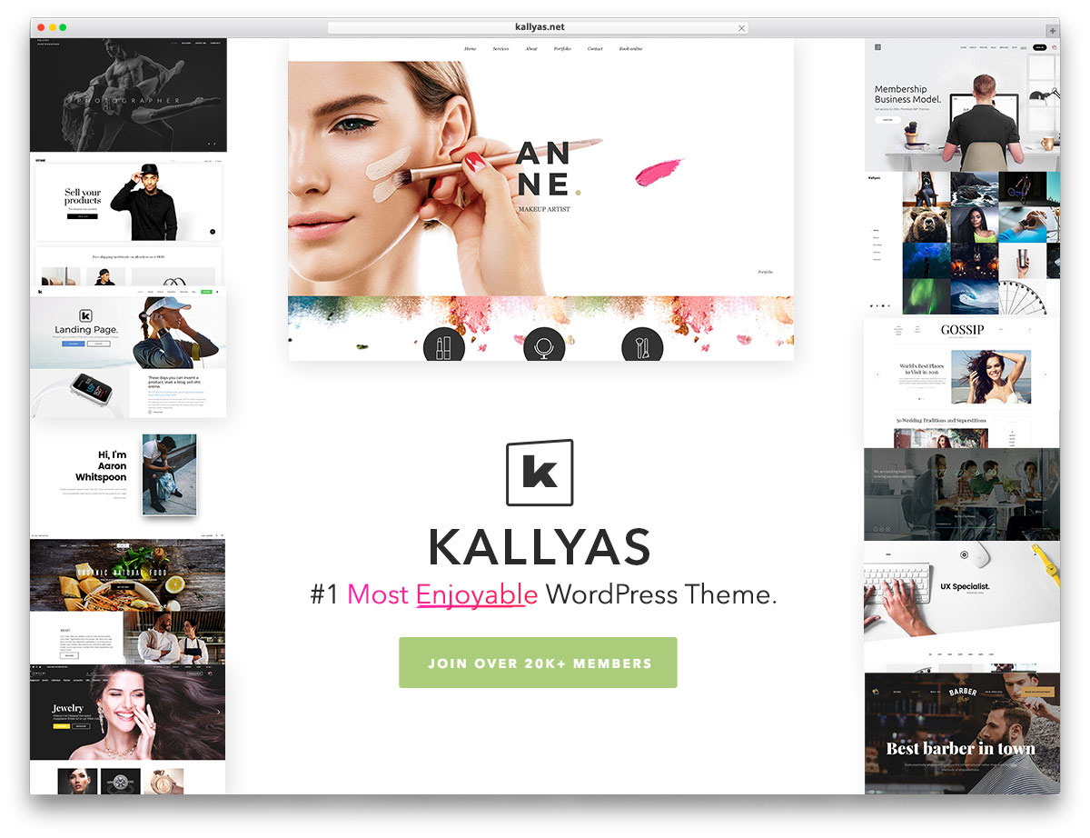 Kallyas In An Adaptable Multipurpose WordPress Theme It Stands For Versatility And Variety With A Responsive Design Is Retina Ready