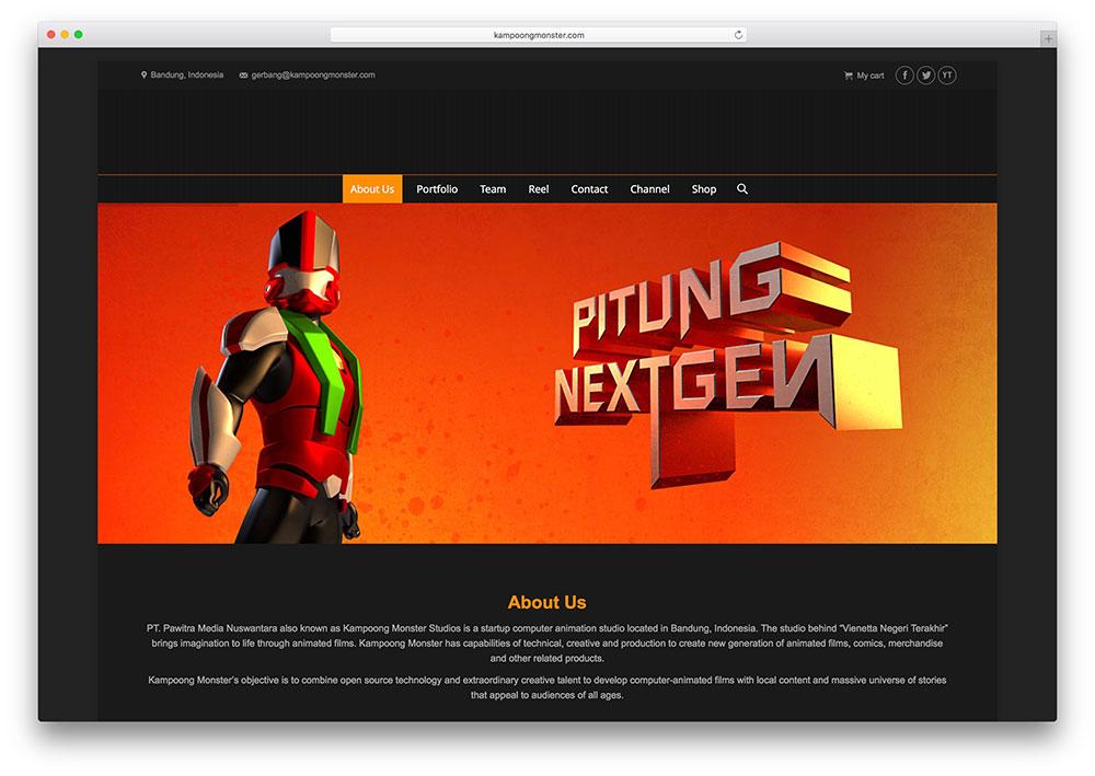 kampoongmonster-creative-the7-theme-powered-website