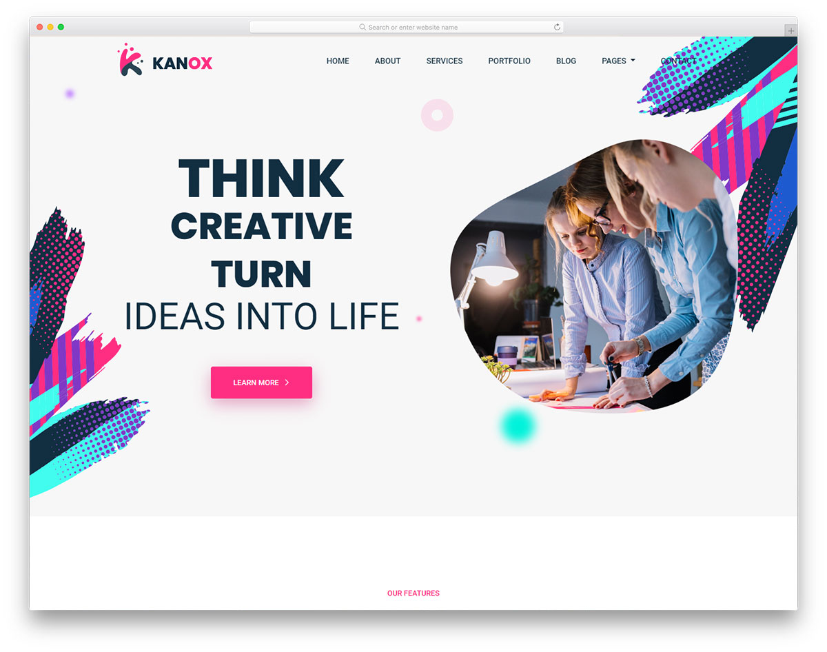 kanox free template
