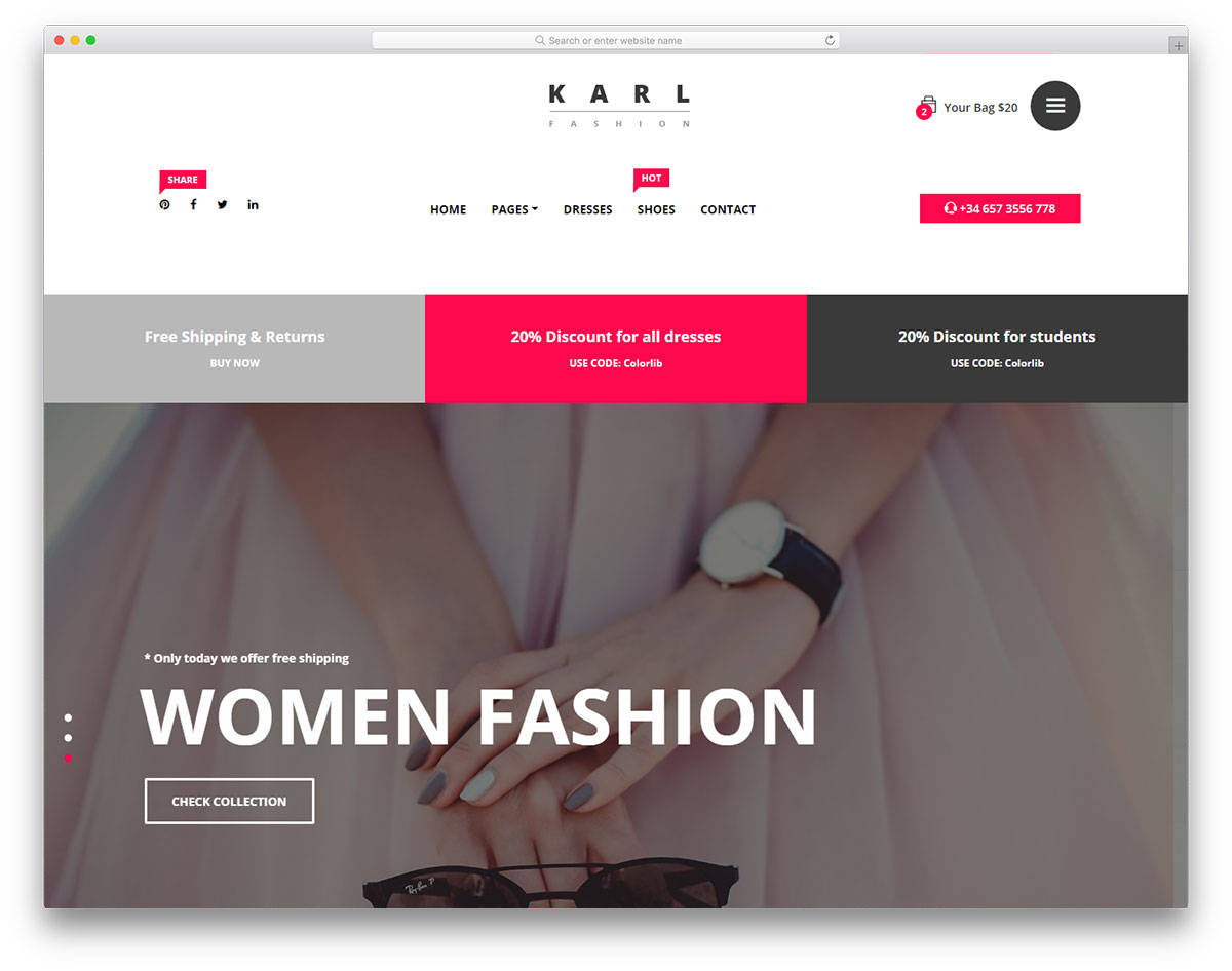 Top 41 Free Ecommerce Website Templates Built With Bootstrap 2019