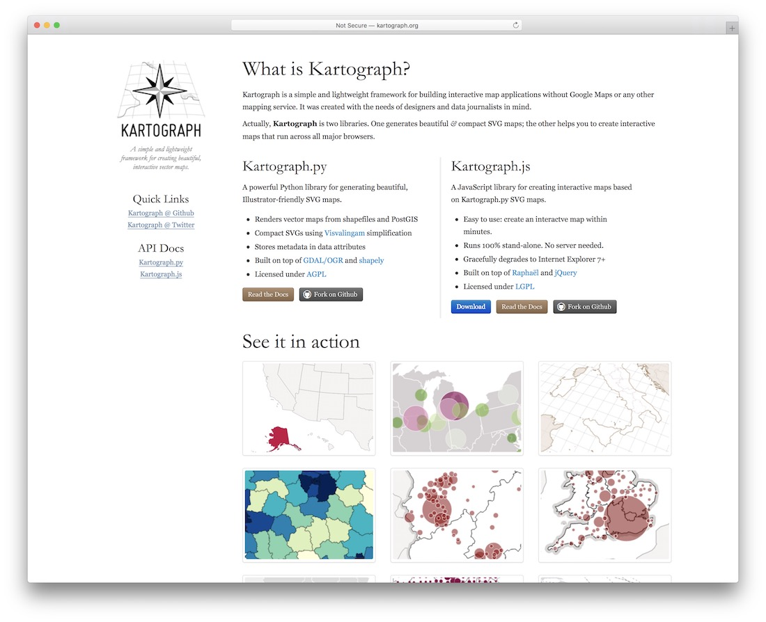 kartograph jquery map plugin