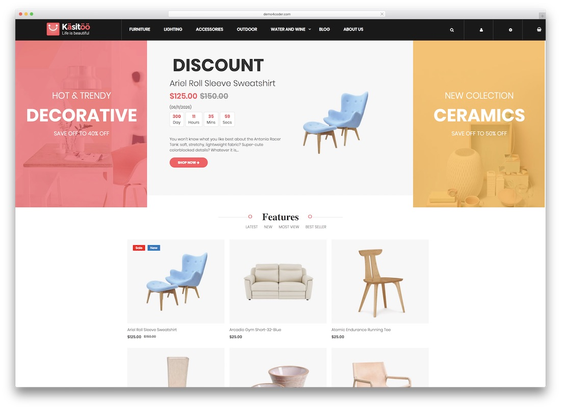 17 Free Magento Templates For Your eCommerce Sites 2018 - Colorlib