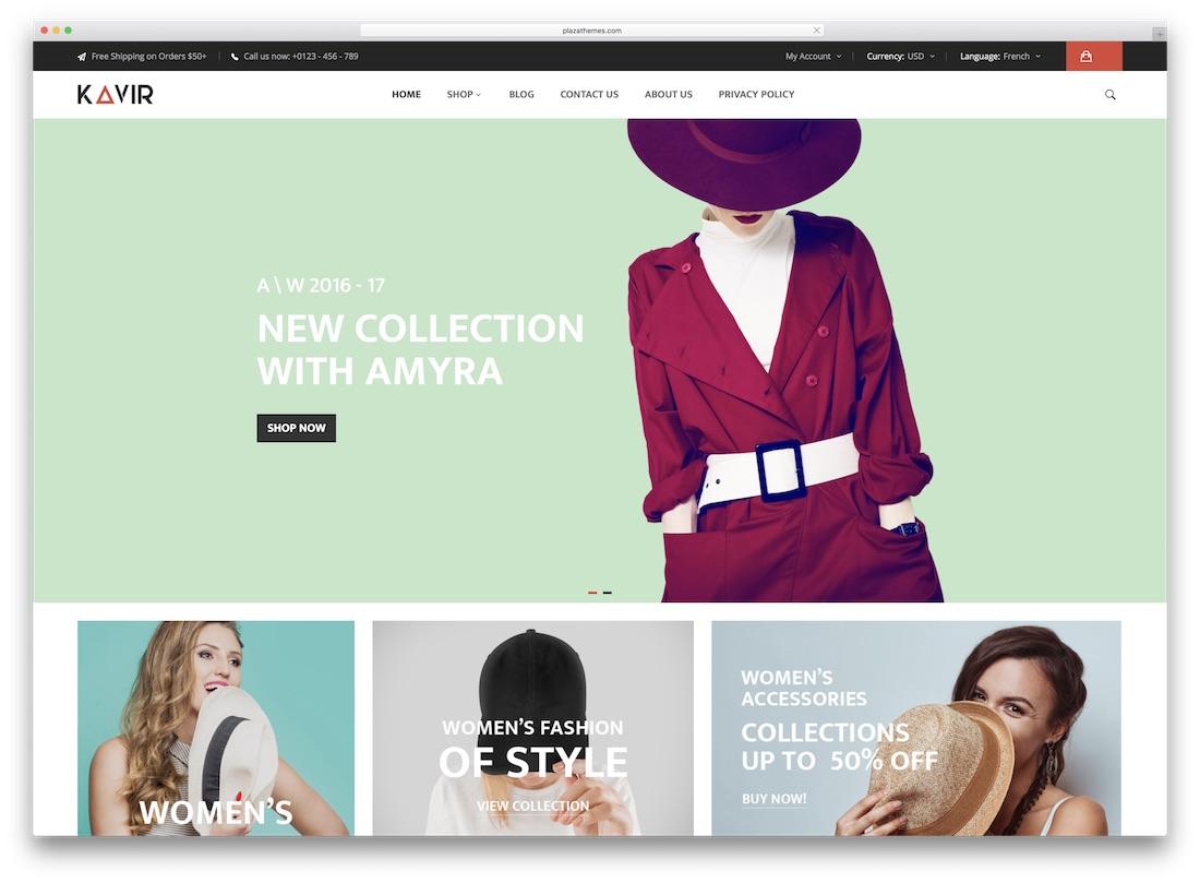 kavir magento fashion theme