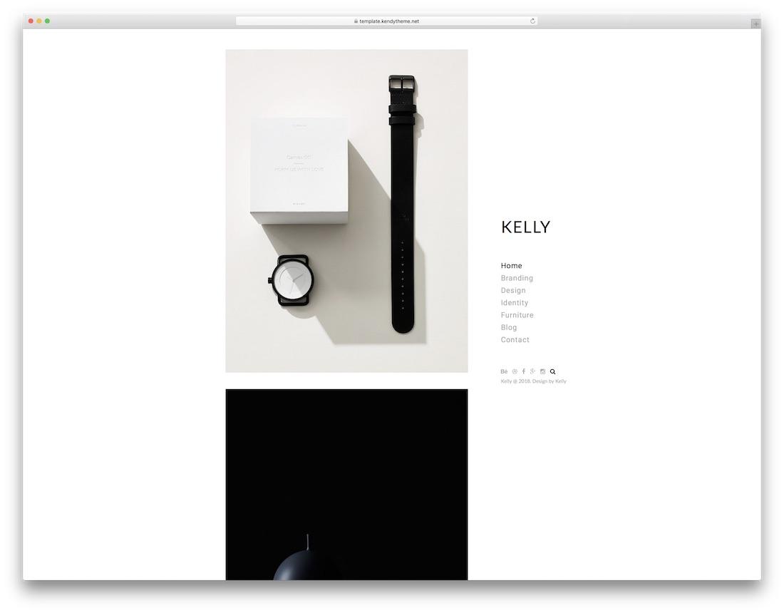 kelly seo friendly website template