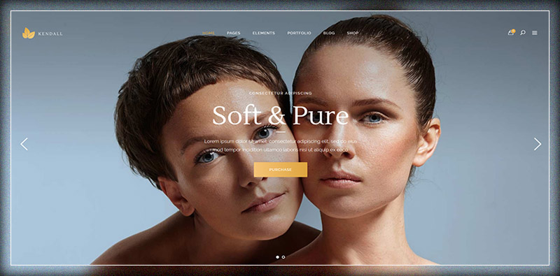 Kendall - A Stylish Theme for Spa, Hair & Beauty Salons