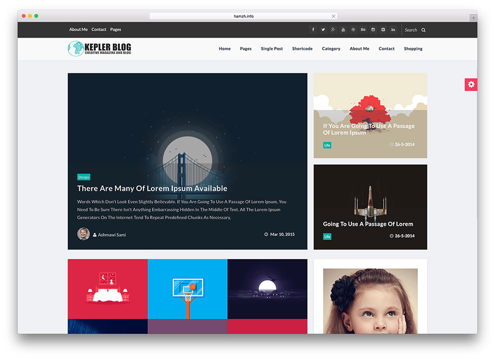 great html5 blogger templates pictures 50 free responsive html5