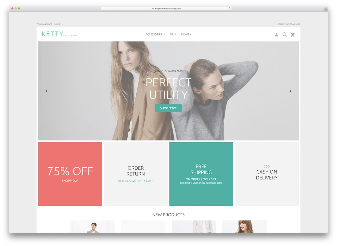 ketty magento template