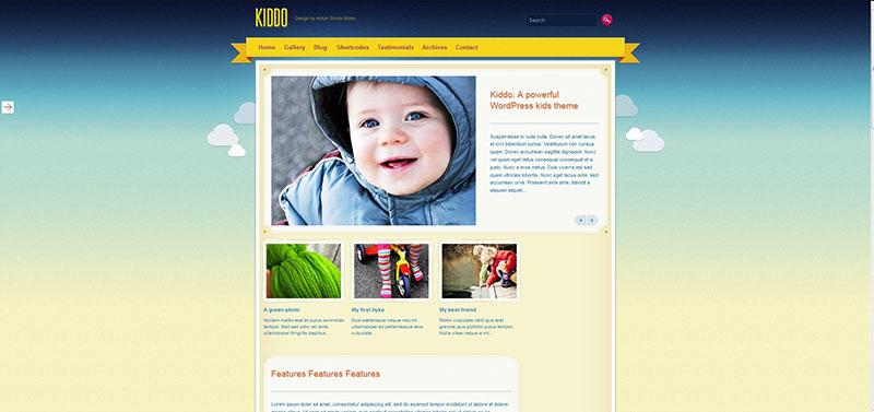 Kiddo: A Powerful Kids Theme