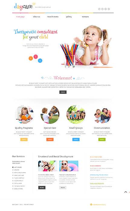 10 Cheerful & Inspiring Kids and Children WordPress Themes - Colorlib