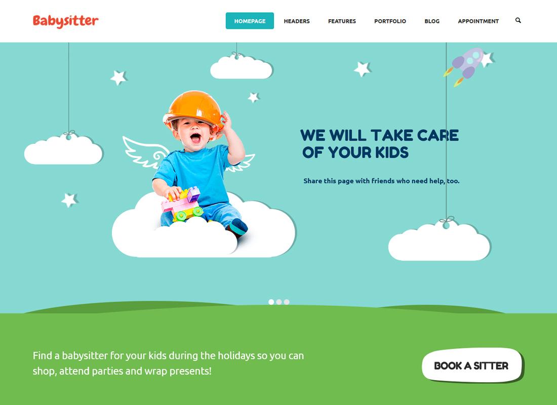 Kids Care - A Multi-Purpose Children WordPress Theme