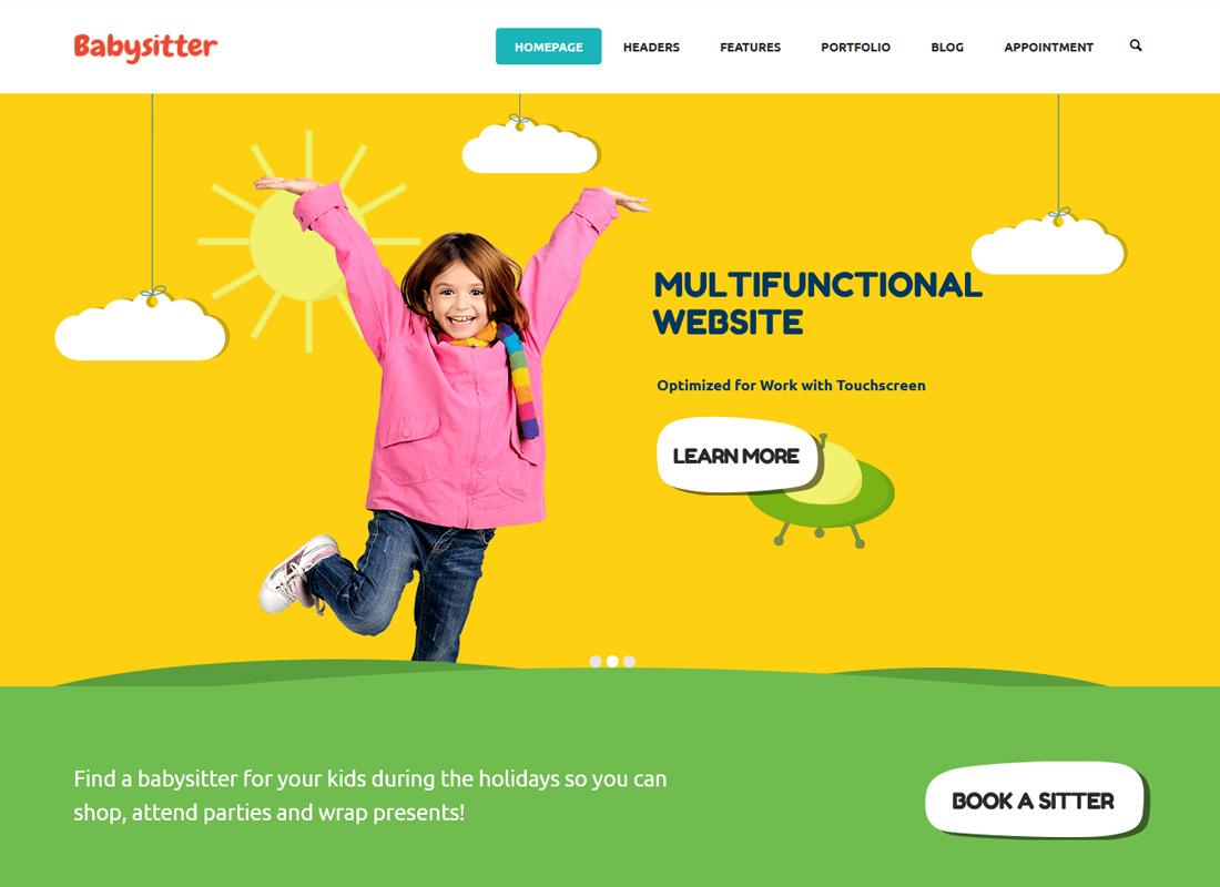 Kids Care | A Multi-Purpose Children WordPress Theme