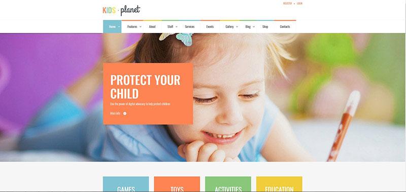 Kids Planet - Multipurpose Children WP Theme