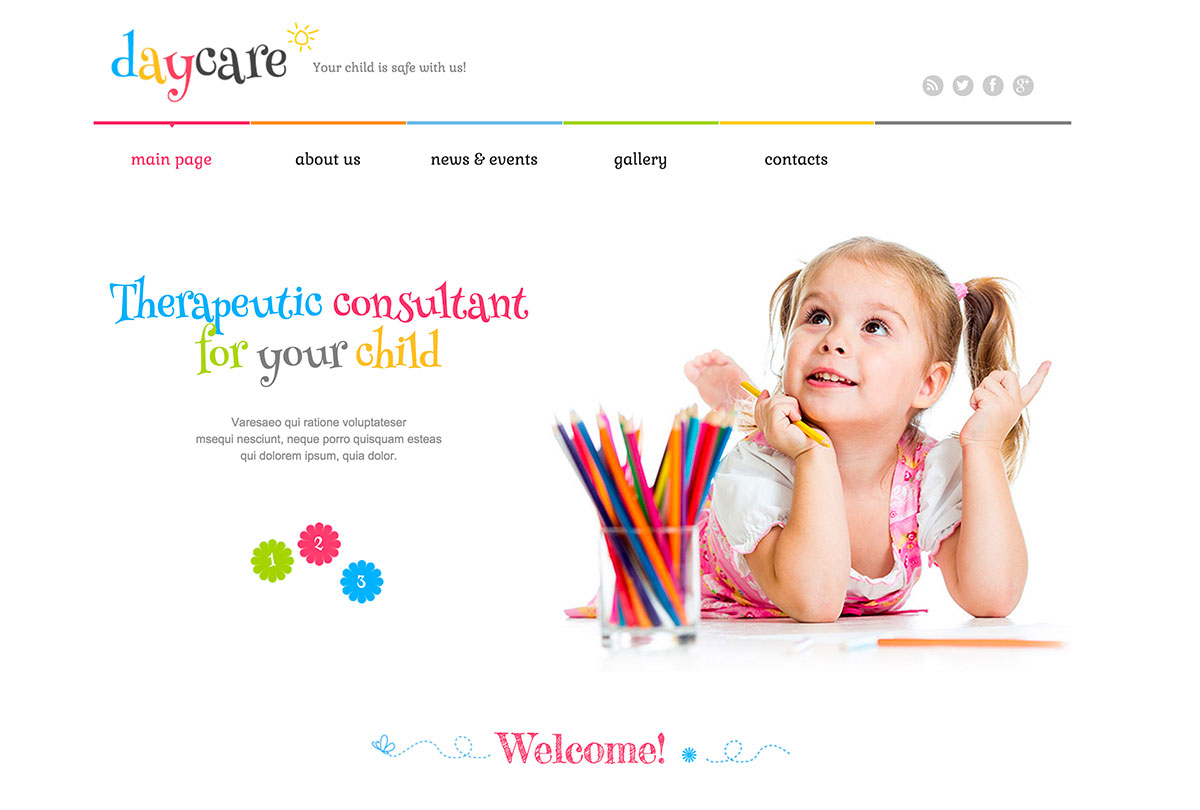 10 Cheerful & Inspiring Kids And Children WordPress Themes
