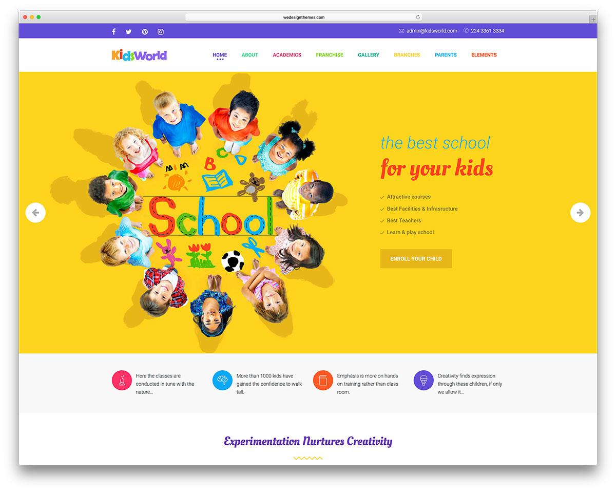 48 Awesome & Responsive WordPress Education Themes 2019 - Colorlib