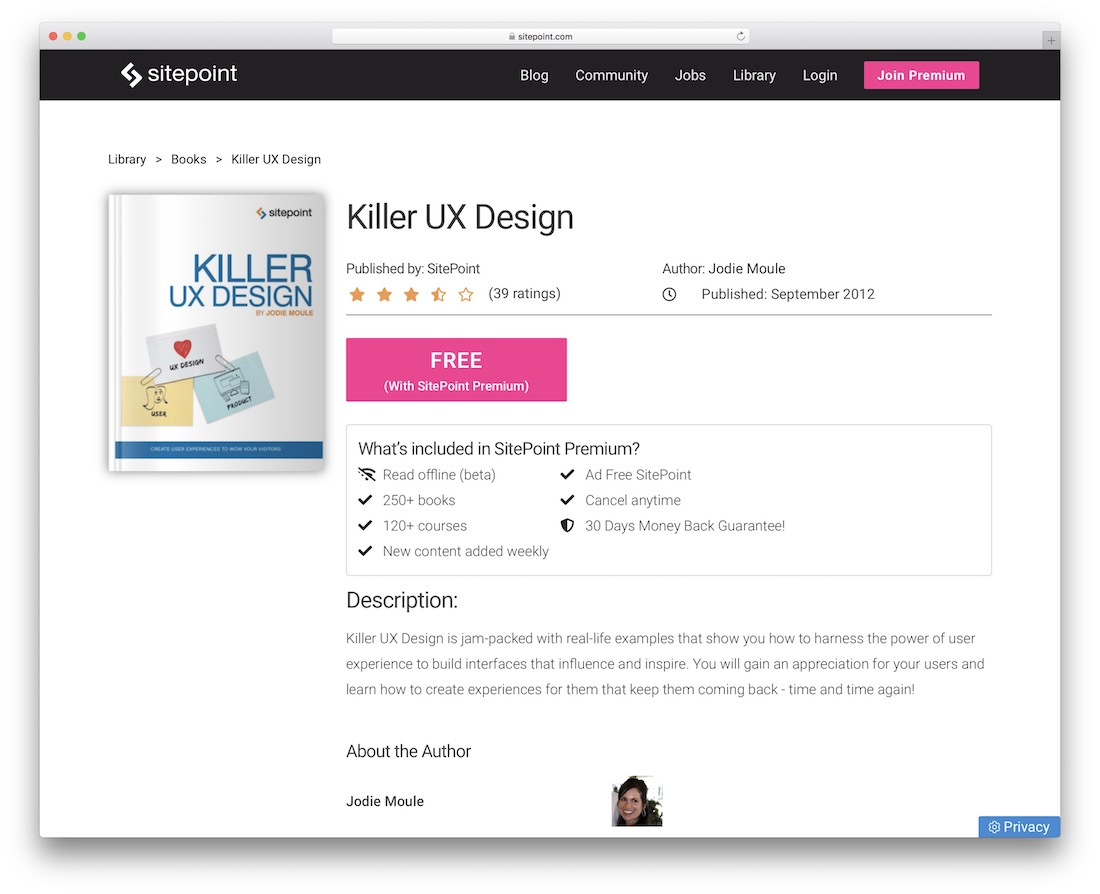 killer ux design