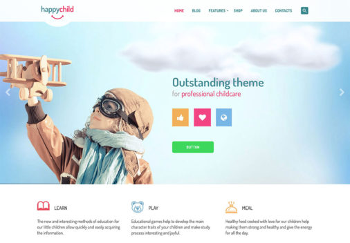 Kindergarten Wordpress Themes