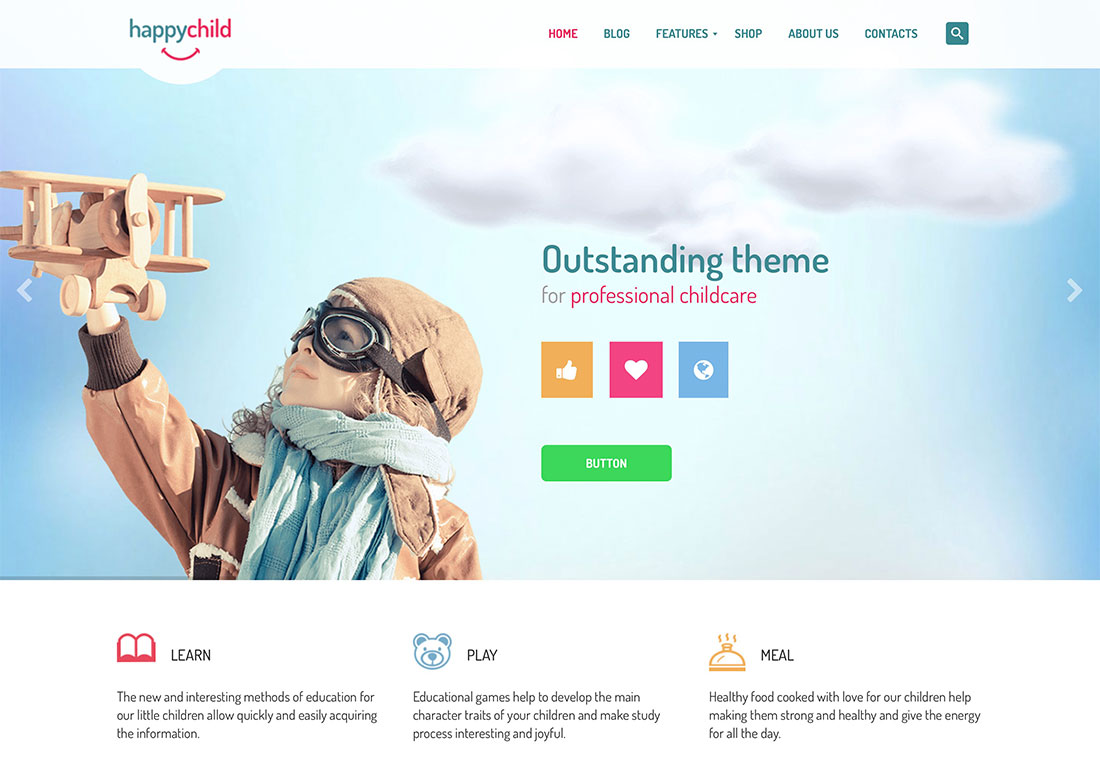 Top 15 Colorful Kindergarten Wordpress Themes 2018 Colorlib