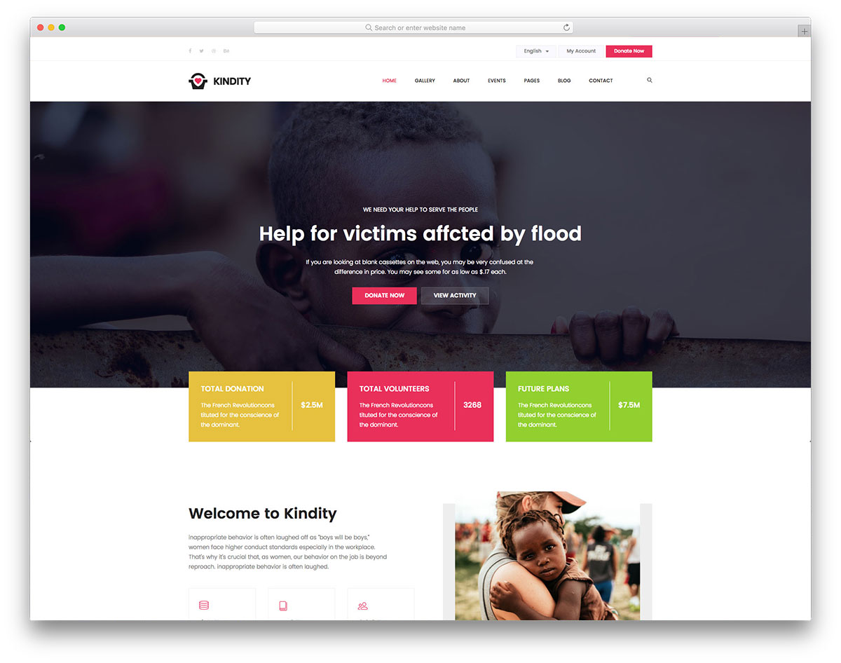 20 Free Charity Non Profit Website Templates 2018