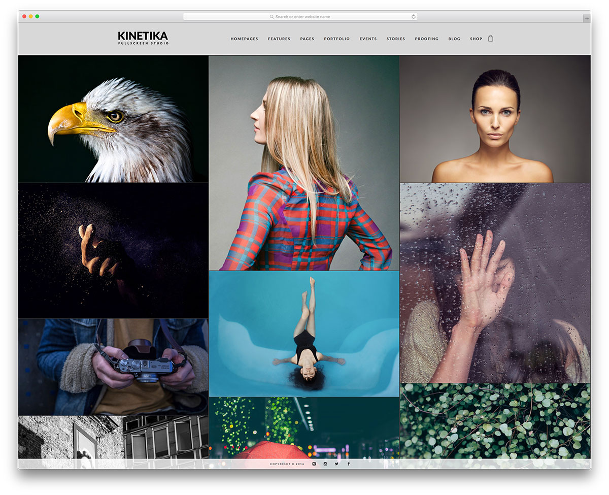 kinetika-simple-portfolio-wordpress-theme