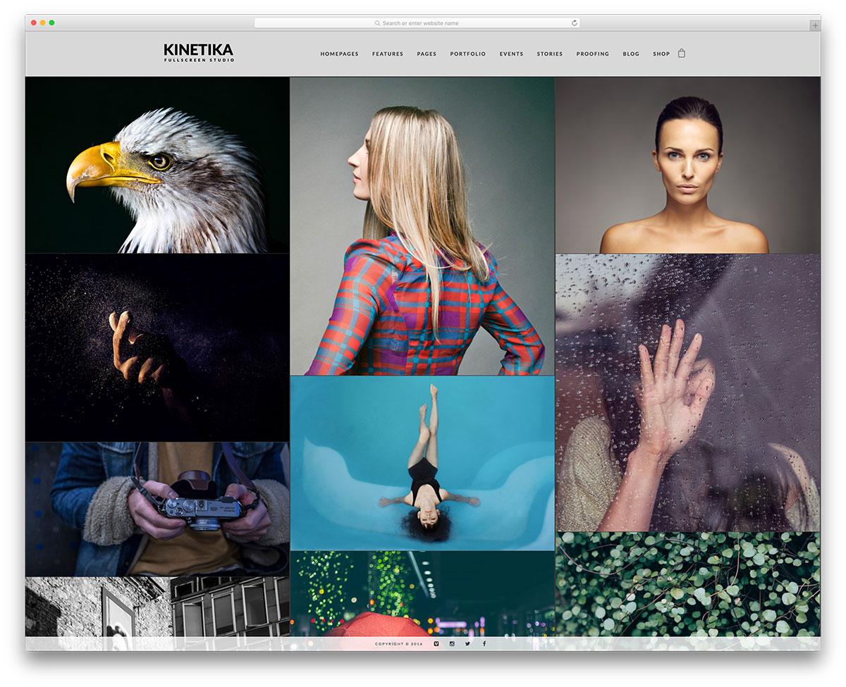 kinetika-simple-portfolio-wordpress-theme