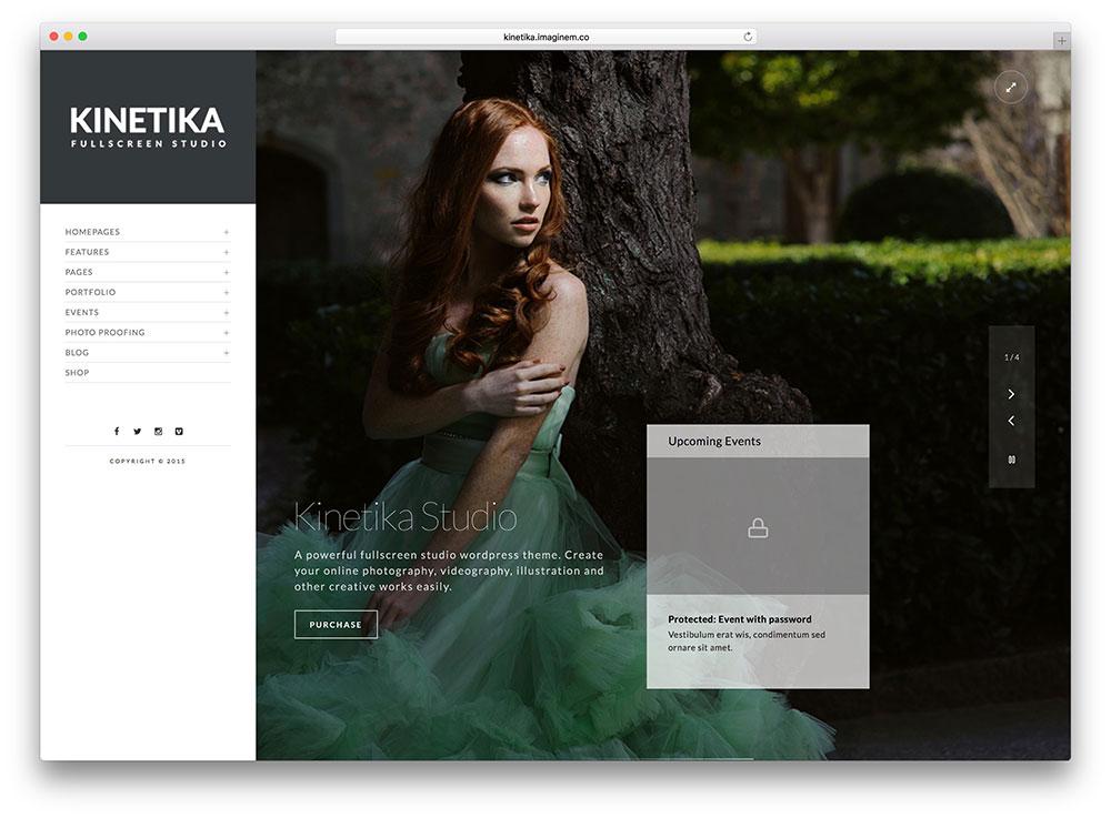 kinetika-vertical-navugation-wordpress-theme