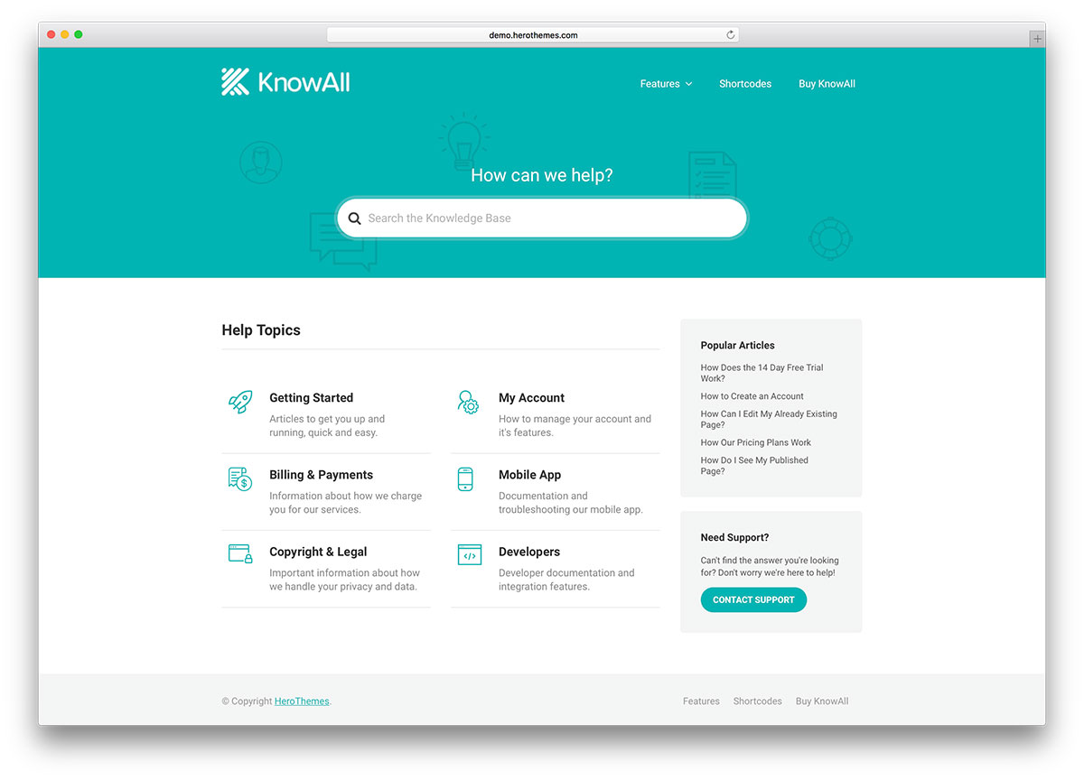 knowall-knowledge-base-website-template
