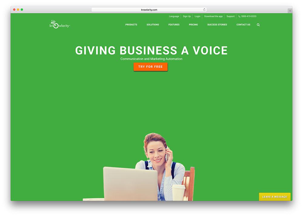 knowlarity-landing-page-using-jupiter-wordpress-theme