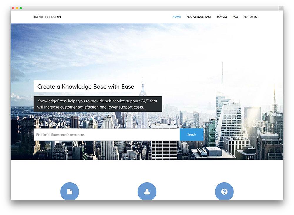 knowledge base wiki wordpress theme